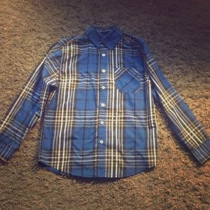 Faded glory flannel Button down, negotiable